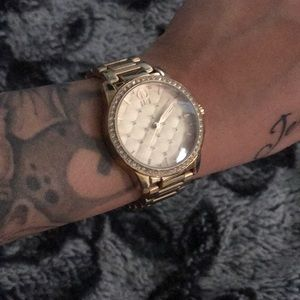 JLo Gold watch